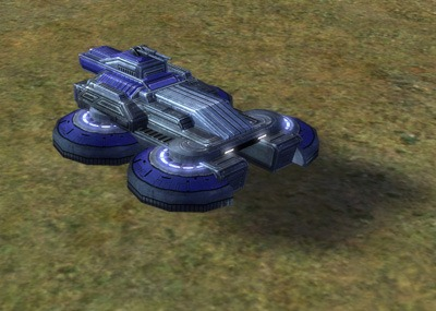 The Riptide Amphibious Tank, UEF Tech 2 unit in Supreme Commander.