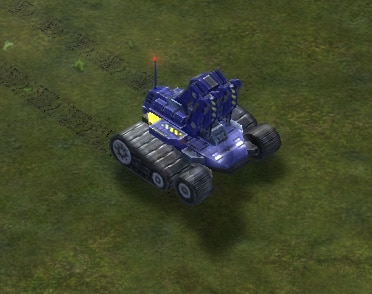 The T2 Engineer, UEF Tech 2 unit in Supreme Commander.