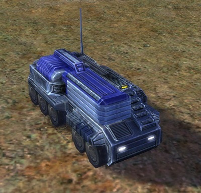 The Flapjack Mobile Missile Launcher, UEF Tech 2 unit in Supreme Commander.
