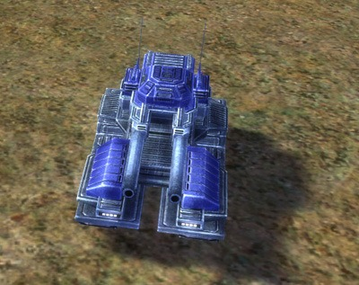 The Pillar Heavy Tank, UEF Tech 2 unit in Supreme Commander.