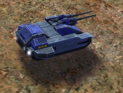 The Skyboxer Mobile AA Flak Artillery, UEF Tech 2 unit in Supreme Commander.