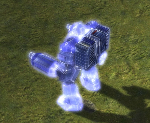 The Personal Shield Generator upgrade for the UEF's Armored Command Unit in Supreme Commander.