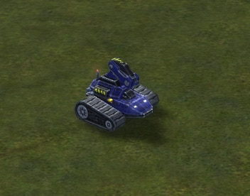 The UEF's Tech 1 Land Engineer unit in Supreme Commander.