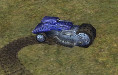The SNOOP Land Scout, UEF Tech 1 unit in Supreme Commander.