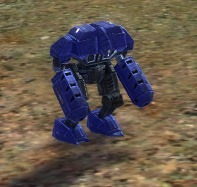 The Mech Marine Light Assault Bot, UEF Tech 1 unit in Supreme Commander.