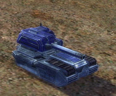 The MA12 Striker Medium Tank, UEF Tech 1 unit in Supreme Commander.