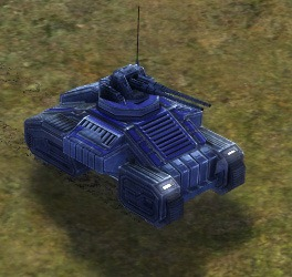 The Archer Mobile Anti-Air Gun, UEF Tech 1 unit in Supreme Commander.