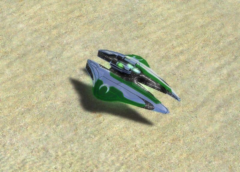 The Absolver T3 Shield Disruptor, Aeon Tech 3 Land Unit in Supreme Commander.
