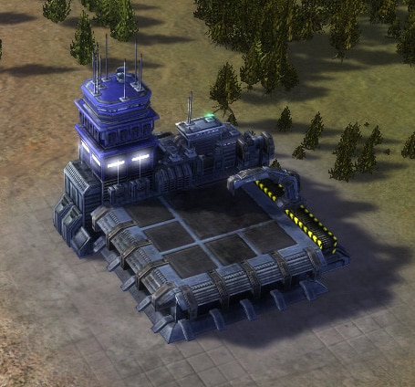 The Air Factory, UEF Tech 1 economy building in Supreme Commander.