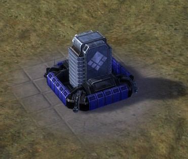 The Aloha Tactical Missile Launcher, UEF Tech 2 defense building in Supreme Commander.