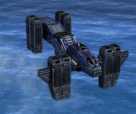The Broadsword Heavy Gunship, UEF Tech 3 air unit in Supreme Commander.