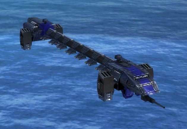 The C14 Star Lifter Air Transport, UEF Tech 2 air unit in Supreme Commander.