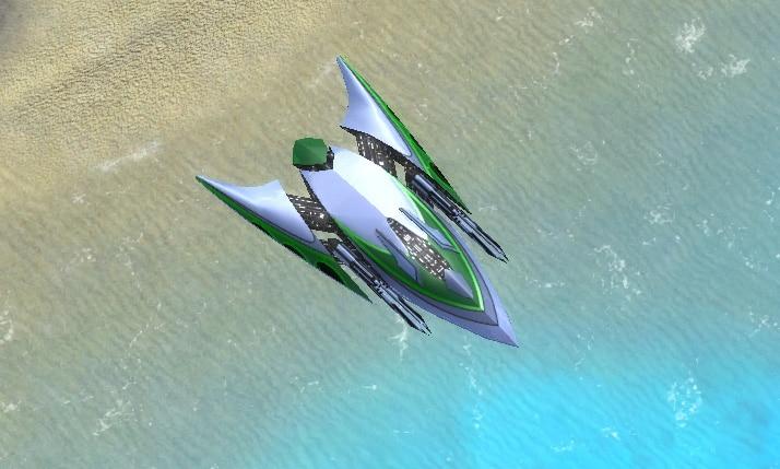 The Conservator Interceptor, Aeon Tech 1 Air Unit in Supreme Commander.
