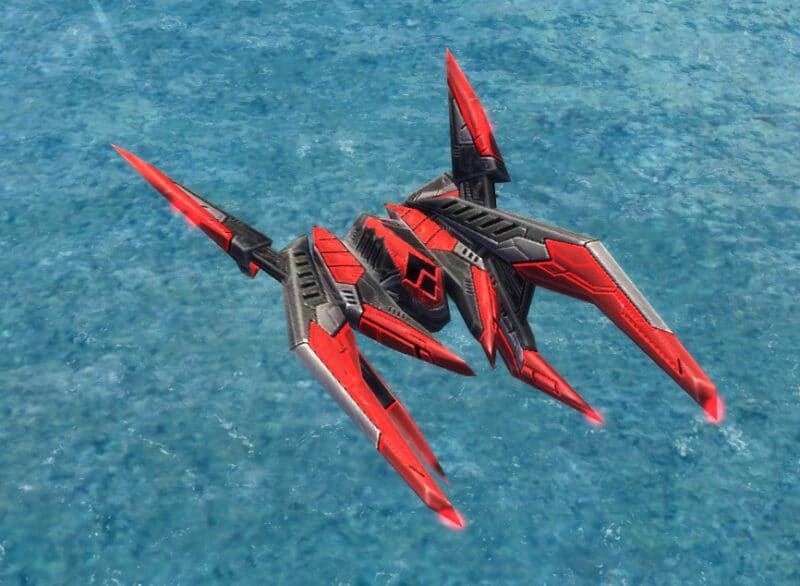 The Corsair Bomber, Cybran Tech 2 Air Unit in Supreme Commander.