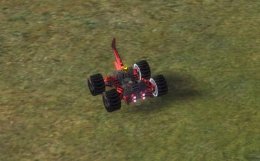 The Engineer T1 Constructor, Cybran Tech 1 Land Unit in Supreme Commander.