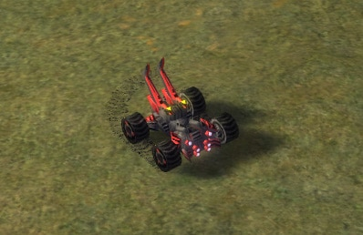 The Engineer T2 Constructor, Cybran Tech 2 Land Unit in Supreme Commander.