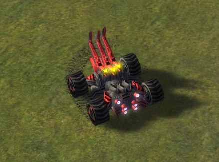 The T3 Engineer, Cybran Tech 3 Land Unit in Supreme Commander.