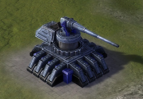 The Duke Heavy Artillery Installation, UEF Tech 3 defense building in Supreme Commander.