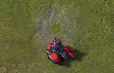 The Deceiver Mobile Stealth Field System, Cybran Tech 2 Land Unit in Supreme Commander.