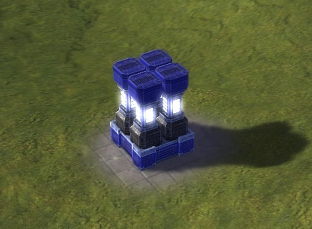 The Energy Storage, UEF Tech 1 economy building in Supreme Commander.