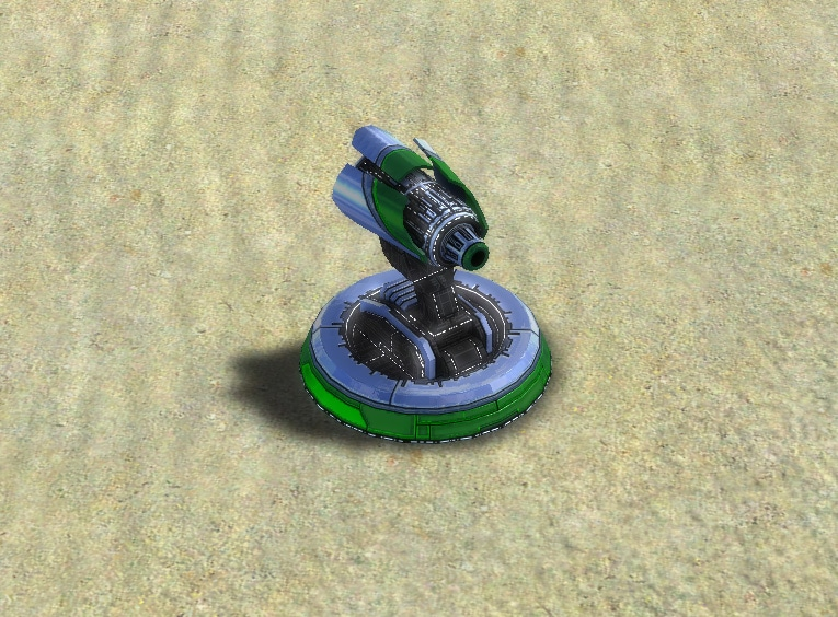 The Erupter Point Defense, Aeon Tech 1 Defensive Building in Supreme Commander.