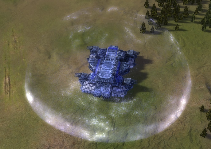 The Fatboy Mobile Factory, UEF Experimental Unit in Supreme Commander.