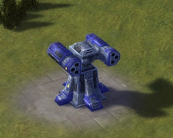 The Flayer Anti-Air SAM Launcher, UEF Tech 3 defense building in Supreme Commander.