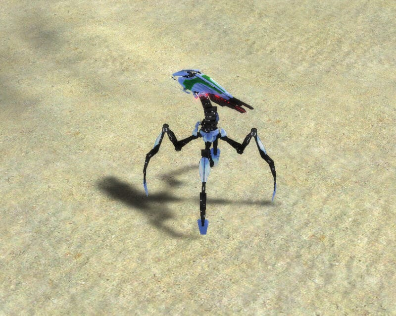The Harbringer Siege Assault Bot, Aeon Tech 3 Land Unit in Supreme Commander.