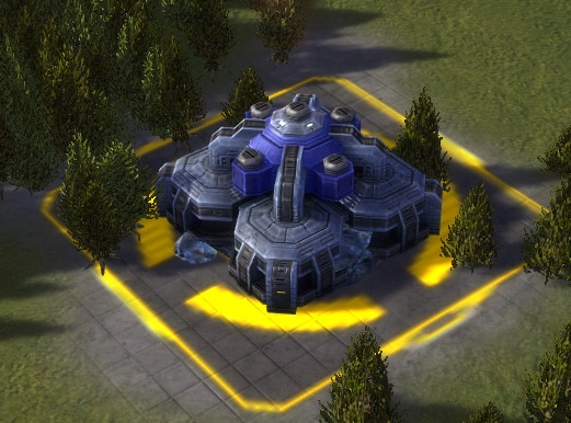The HCPP-X1000 Hydrocarbon Power Plant, UEF Tech 1 economy building in Supreme Commander.