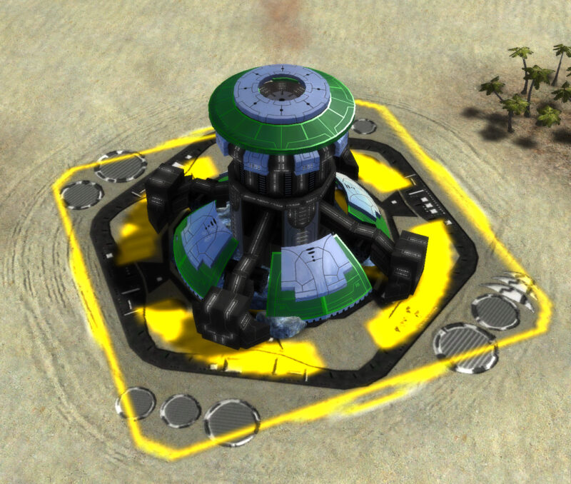 The Hydrocarbon Power Plant, Aeon Tech 1 Economy Building in Supreme Commander.