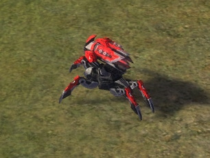 The Hoplite Rocket Bot, Cybran Tech 2 Land Unit in Supreme Commander.