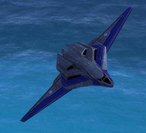 The Janus Bomber, UEF Tech 2 air unit in Supreme Commander.