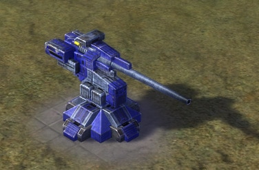 The Klink Hammer Artillery Installation, UEF Tech 2 defense building in Supreme Commander.