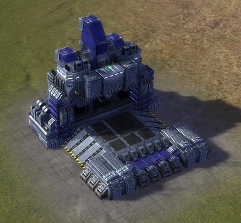 The Land Factory, UEF Tech 1 economy building in Supreme Commander.