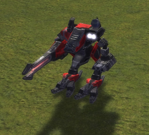 The Loyalist Siege Assault Bot, Cybran Tech 3 Land Unit in Supreme Commander.