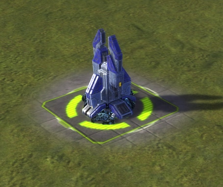 The Mass Extractor, UEF Tech 1 economy building in Supreme Commander.