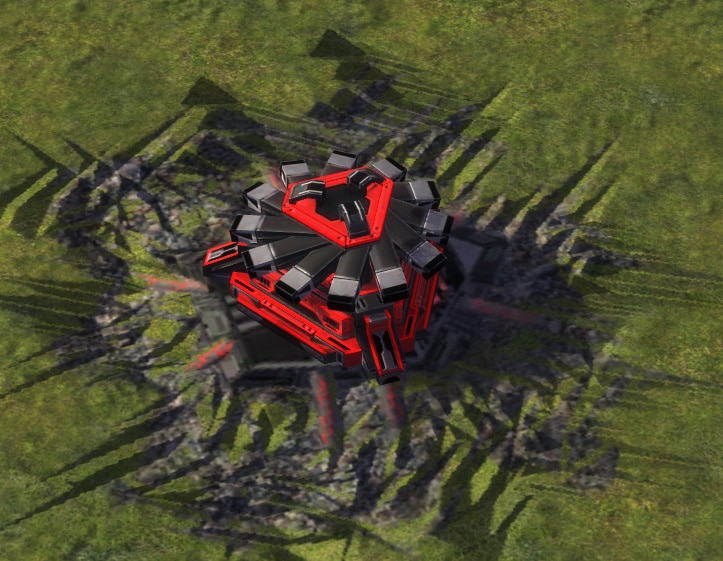 The Mass Fabricator, Cybran Tech 1 Economy Building in Supreme Commander.