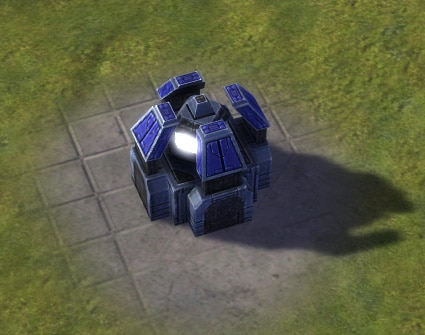 The Mass Fabricator, UEF Tech 1 economy building in Supreme Commander.