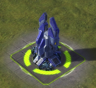 The Mass Pump T2 Mass Extractor, UEF Tech 2 economy building in Supreme Commander.