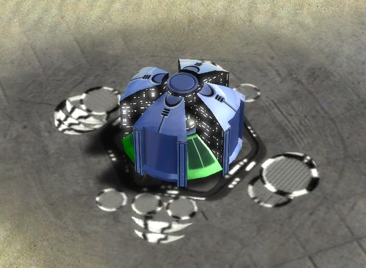 The Mass Storage, Aeon Tech 1 Economy Building in Supreme Commander.