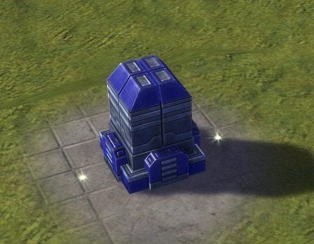 The Mass Storage, UEF Tech 1 economy building in Supreme Commander.
