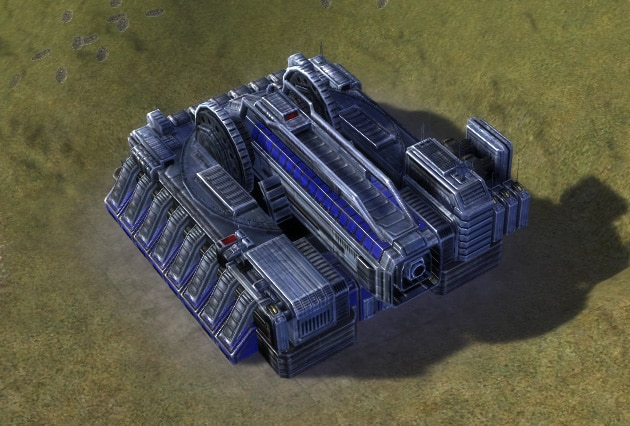 The Mavor Strategic Artillery, UEF Experimental Unit in Supreme Commander.