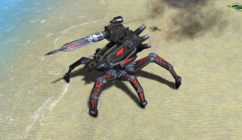 The Monkeylord Spiderbot, Cybran Experimental Unit in Supreme Commander.