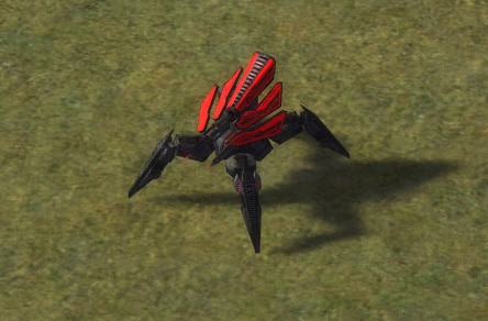 The Mantis Heavy Assault Bot, Cybran Tech 1 Land Unit in Supreme Commander.