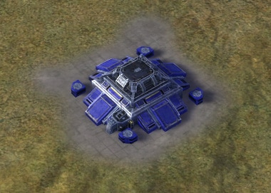 The Nuke Eliminator Strategic Missile Defense, UEF Tech 3 defense building in Supreme Commander.