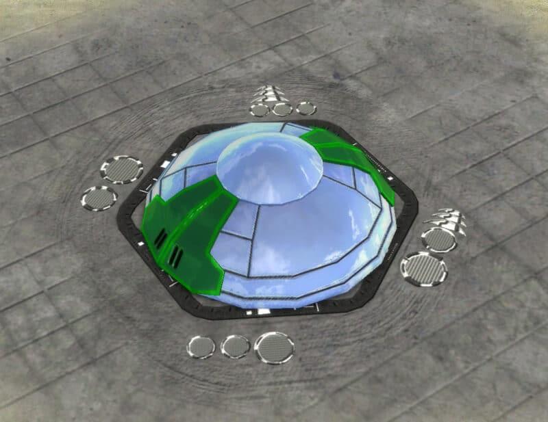The Patron Strategic Missile Defense, Aeon Tech 3 Defensive Building in Supreme Commander.