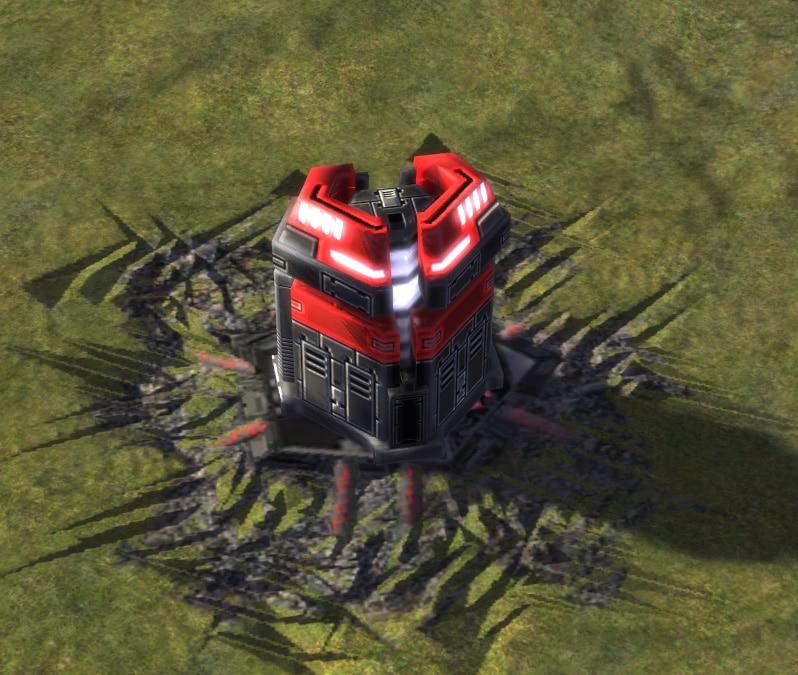 The Power Generator, Cybran Tech 1 Economy Building in Supreme Commander.
