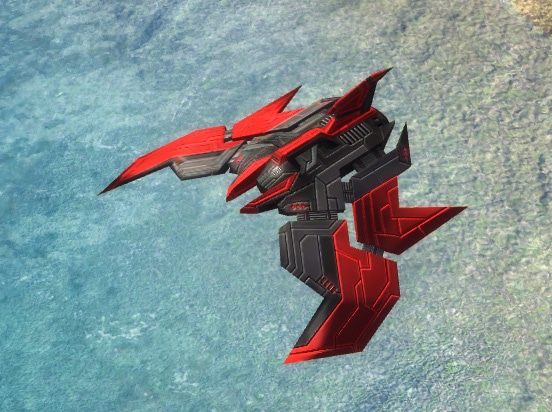 The Prowler Interceptor, Cybran Tech 1 Air Unit in Supreme Commander.
