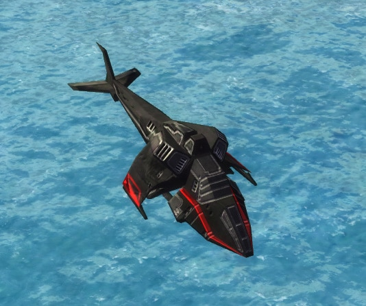 The Renegade Gunship, Cybran Tech 2 Air Unit in Supreme Commander.
