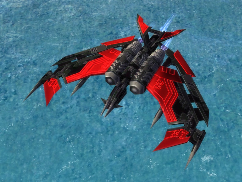 The Revenant Strategic Bomber, Cybran Tech 3 Air Unit in Supreme Commander.
